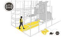 Automatic Safety System for VNA Lift Trucks