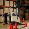 Expanding the radius of lift truck safety