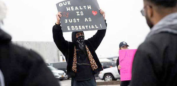 Amazon Worker Fired After Organizing a Walkout