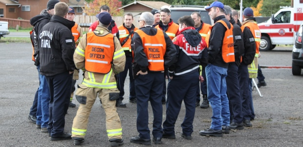Every employee who may witness or discover a hazardous substance release and who is responsible for alerting others or evacuating must complete first responder HAZWOPER awareness training. (Ben Carlson/Shutterstock.com)