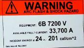 Although the NFPA 70E basic requirement is for a sign warning of the arc flash hazard, it is more helpful for engineers if the sign includes other information.