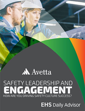 Safety Leadership and Engagement | How are you driving safety culture success?