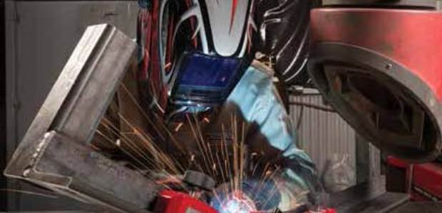 The welding arc creates extreme temperatures and may pose a significant fire and explosion hazard if safe practices are not followed. (The Lincoln Electric Company photo)