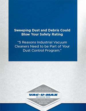 Sweeping Dust and Debris Could Blow Your Safety Rating