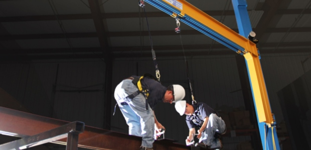 Implement a fall protection system that saves your employees and your budget. (Gorbel Inc. image)
