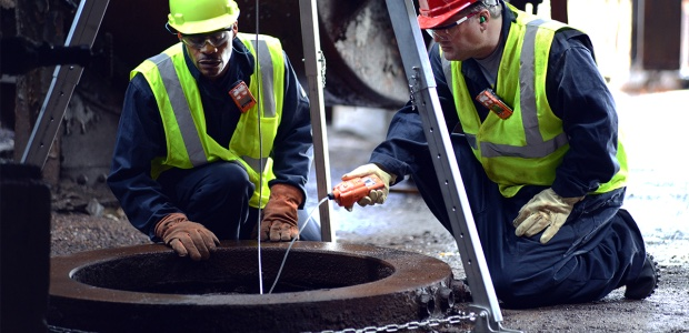 Proper testing of a confined space