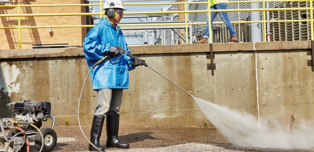 Examples of noise reduction strategies include: regular equipment maintenance, isolating workers from noise through soundproofing and noise damping, and upgrading to lower-noise tools and machinery. (Photo courtesy of 3M Personal Safety Division)