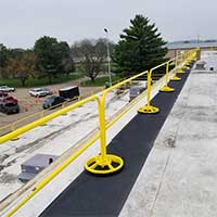 SRC360 Mobile Safety Rail System