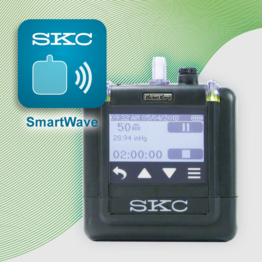 SmartWave App for Pocket Pump TOUCH Low Flow Sample Pumps