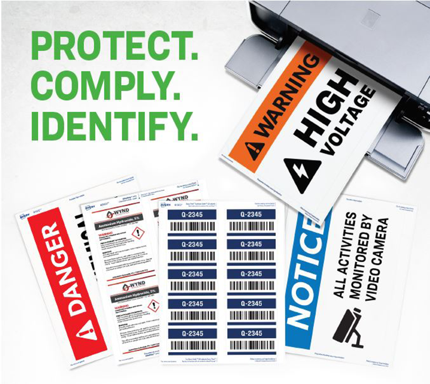 Safety and Industrial Labels