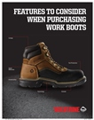 In addition to safety standards, there are numerous components of work boots that impact their comfort and functionality. (Wolverine photo)