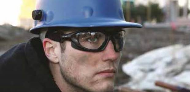 Properly fitted safety eyewear will protect the wearer from dusts and particles while being comfortable and free of fogging. (Uvex by Honeywell photo)