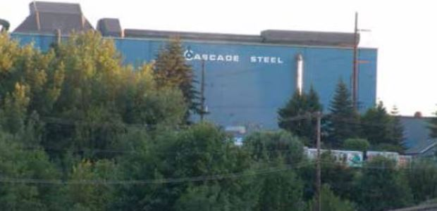 The Cascade Steel Rolling Mills facility is located in McMinnville, Ore. (Remote Solutions LLC image)