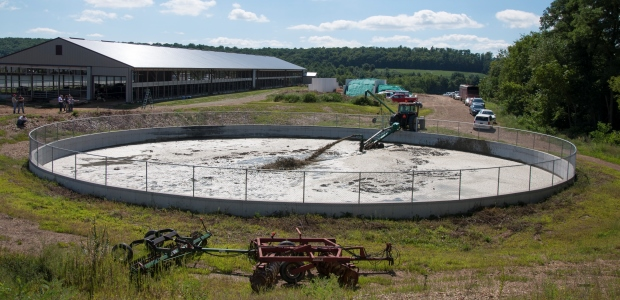 The Agricultural and Biological Engineering group of Penn State University is currently conducting a research project on hydrogen sulfide releases from manure pits, with a focus on farms using gypsum products as bedding for dairy cows. (Industrial Scientific Corporation photo)
