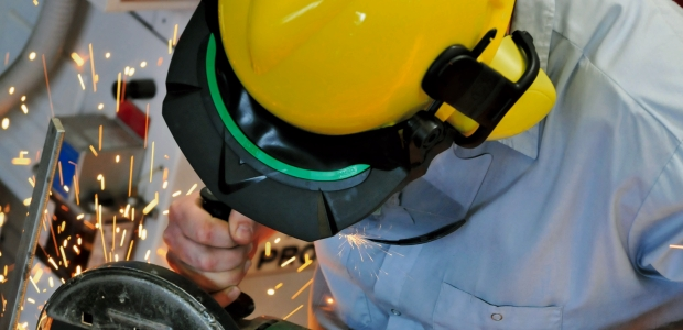As work environments change and new hazards emerge, ANSI/ISEA Z89.1-2014 attempts to eliminate any ambiguity regarding characteristics of industrial head protection and their importance in the work environment. (MSA photo)