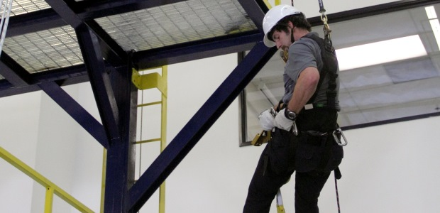 Combine hands-on and classroom instruction to discuss issues such as regulations, assigning responsibilities, identifying, eliminating and controlling hazards, implementing the tenets of the written plan on the job, and how to select, use, inspect, store and maintain fall protection equipment. (Capital Safety photo)