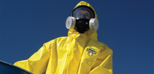 Protective garments should be made from materials that are flexible enough for the wearer to move and work in the safest ways possible. (Lakeland Industries photo)