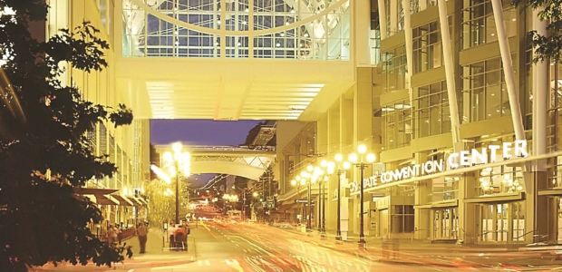 The Washington State Convention Center is located in downtown Seattle and hosts AIHce 2017. (Washington State Convention Center photo)