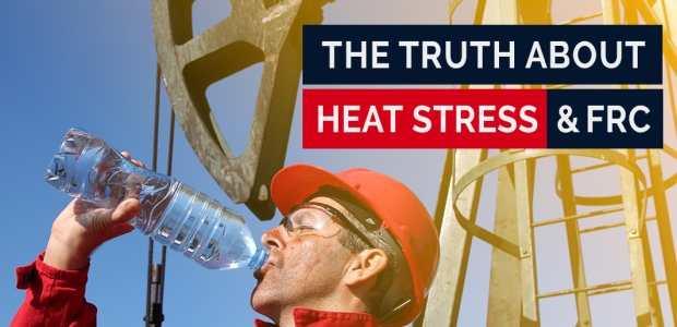 The primary causes of heat stress are poor hydration, lack of shade, and lack of rest breaks, not clothing. (Tyndale Company photo)