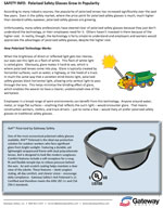 Polarized Safety Glasses Grow in Popularity