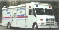 Fairfax, Va., mobile communications/command unit