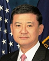 Veterns Affairs Secretary Eric Shinseki