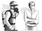 The document covers all major types of respirators.