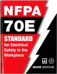 the cover page of the NFPA 70E standards 2009 edition