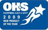 The OH&S 2009 Product of the Year Award logo.