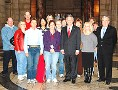 Nebraska Gov. Dave Heineman met Oct. 2 with state workers who have reached their walking goal of 360,000 steps.
