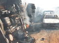 This photo on the Web site of The Nation, a Nigerian newspaper, shows the scene of the tanker explosion.