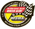MSHAs logo for their 2009 Winter Alert campaign