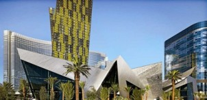 The Crystals retail and entertainment district at CityCenter, with exterior architecture by Studio Daniel Libeskind, opened Dec. 3.