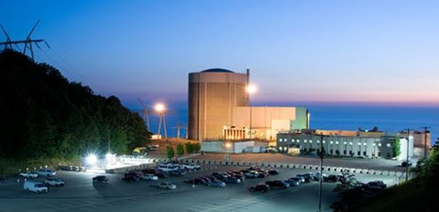 The Palisades Nuclear Power Plant in Michigan is scheduled to be permanently retired in 2022.