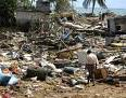This photo shows some of the destruction caused by the December 2004 Asian tsunami.