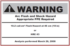 CSA Z462 recommends this label in Annex Q.