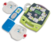This ZOLL photo shows the AED Plus.