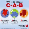 This graphic from the American Heart Association illustrates its 2010 CPR guidelines, which emphasize chest compressions after collapse.