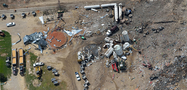 The explosion in West, Texas, prompted President Obama