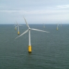 Offshore turbines, such as this Vestas turbine off the coast of Wales, are gaining popularity. Eight companies recently submitted bids to place turbines in Atlantic Ocean waters off the Maryland coast.