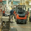 Because an average forklift weighs three times more than a car, ergonomics is a prime concern at TIEM.