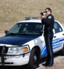 This photo from the website of the Des Moines Police Department shows one of its traffic enforcement officers. This department is the largest in Iowa.