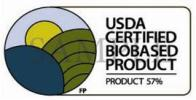 BioPreferred applicants must submit testing evidence of the biobased content they claim to be certified and bear the label.