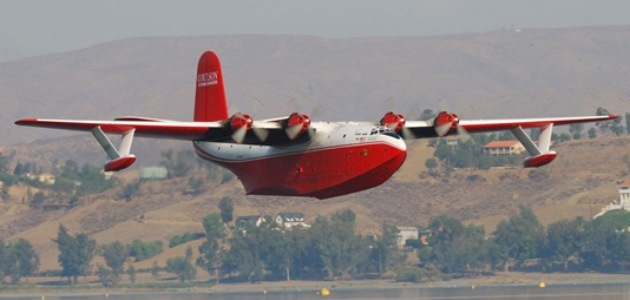 """This is the last flying Mars in the world and the largest warbird ever built,"" said Wayne Coulson, CEO of Coulson Flying Tankers. The plane makes its first trip to Wisconsin for EAA AirVenture Oshkosh 2016, July 25-31."