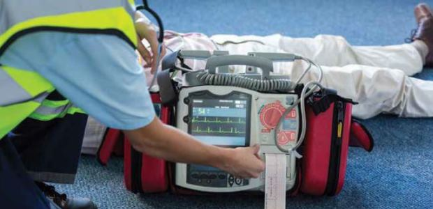 When a defibrillator has shocked the patient, it's important that the emergency services are called, even if the heart