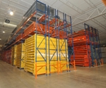 Pallet racking should be regularly assessed to ensure it is in proper condition, with no threats to structural integrity. (Storage Solutions photo)