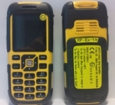 European authorities say this Expert XP-Ex-1 mobile phone is not safe for use in potentially explosive atmospheres.