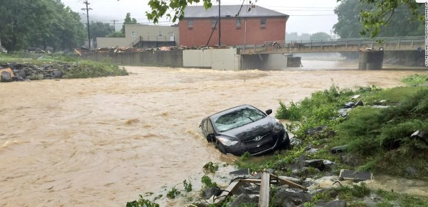 The June 23, 2016, floods in West Virginia killed 23 people and damaged homes, businesses, schools, and infrastructure, to the tune of $339.8 million in flood costs.
