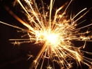 Sparklers burn at a temperature of about 2,000 degrees, according to the U.S. Consumer Product Safety Commission.