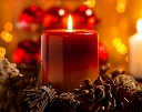 ESFI and NFPA advise using battery-operated candles in place of traditional candles.